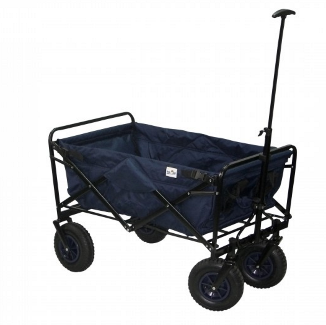 bel sol faltbarer bollerwagen nick in blau bollerwagen faltbar klappbar. Black Bedroom Furniture Sets. Home Design Ideas