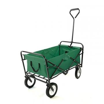 Faltbarer Bollerwagen Standard in Grün von Samax