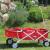 Bollerwagen klappbar JW-76 in Rot mit EXTRA Tasche von Fuxtec
