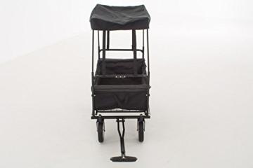 Faltbarer Bollerwagen CP410 von Mendler (schwarz)